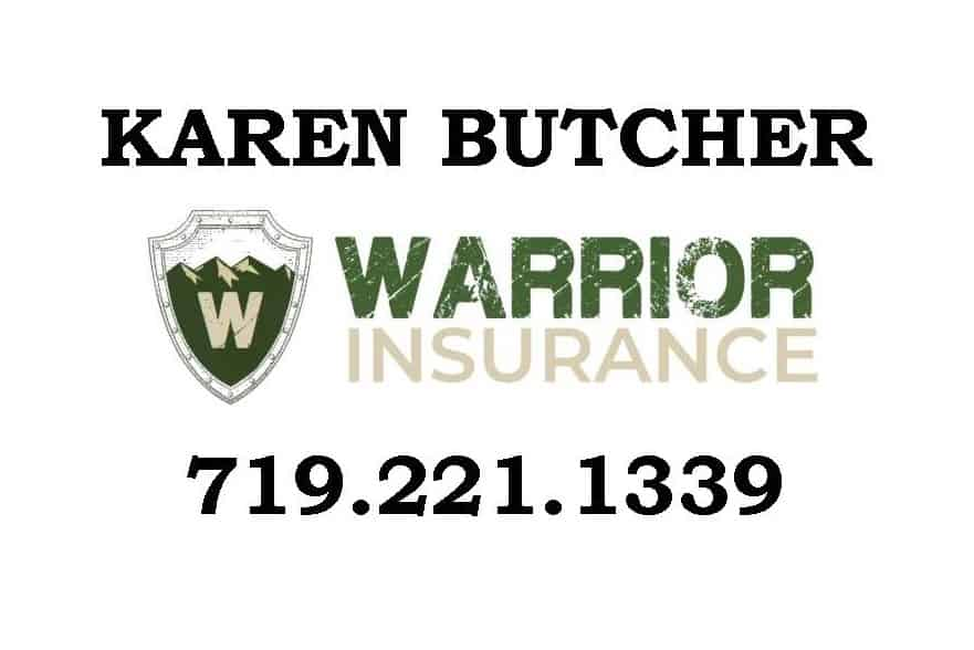 Karen Butcher Warrior Insurance Logo